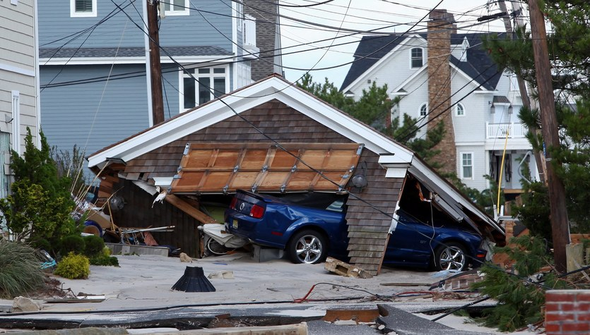 Tak wygląda wschodnie wybrzeże USA po przejściu Sandy