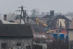 Tak wyglądają domy w Jankowie Przygodzkim po wybuchu gazu