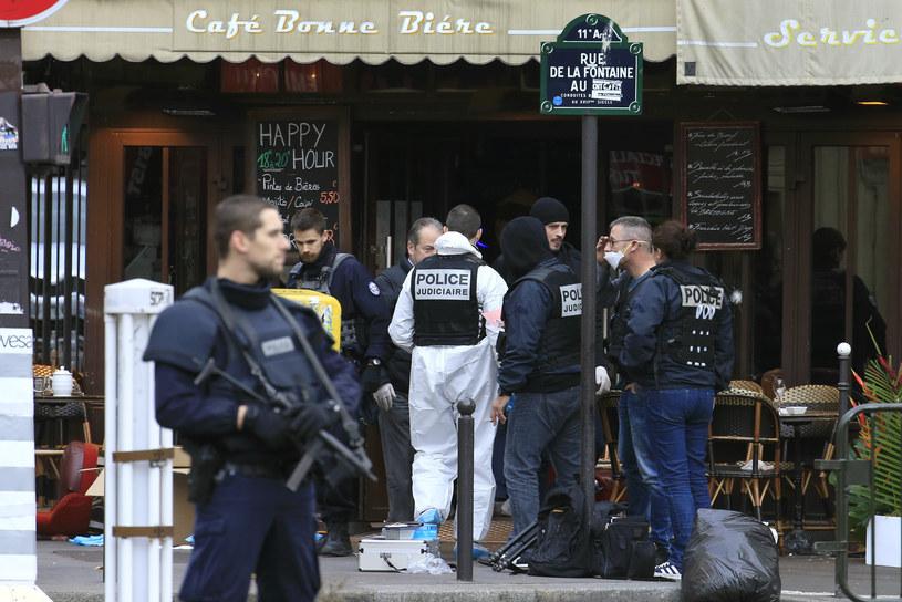 Tak wyglądają teraz ulice Paryża /PASCAL ROSSIGNOL /Agencja FORUM
