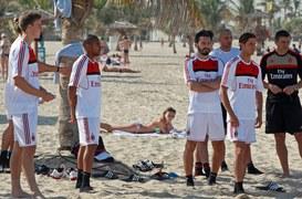 Tak wyglądają zimowe przygotowania piłkarzy AC Milan