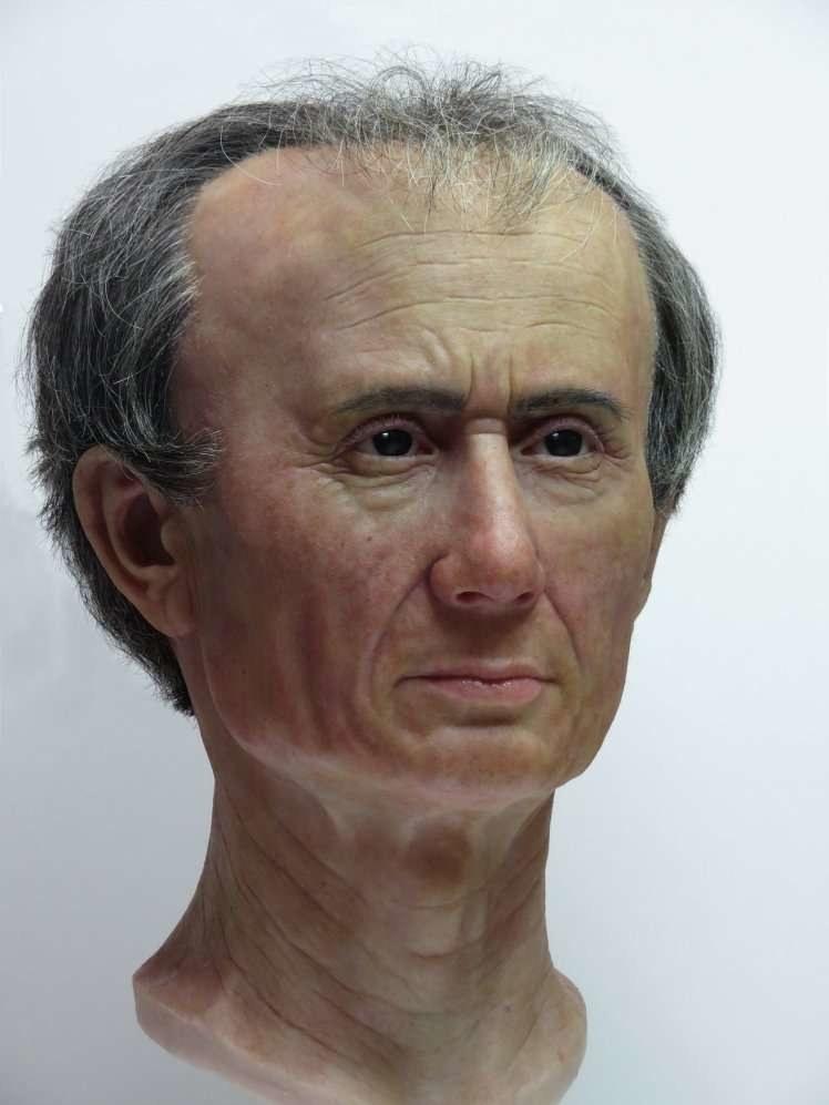 Tak wyglądał Juliusz Cezar /Fot. National Museum of Antiquities in the Netherlands /materiały prasowe
