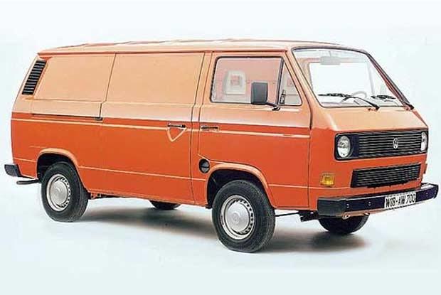 Tak wyglądał mulitvan VW w 1982 r. /INTERIA.PL