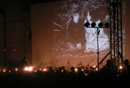 """Tak wyglądał pokaz """"Generała"""" z muzyką wykonywaną na żywo, fot. Marta Mesjasz /INTERIA.PL"""