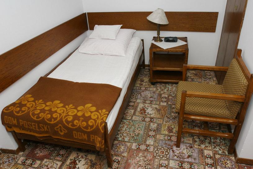 Tak wyglądał pokój w Domu Poselskim w 2005 r. /Jerzy Dudek /East News