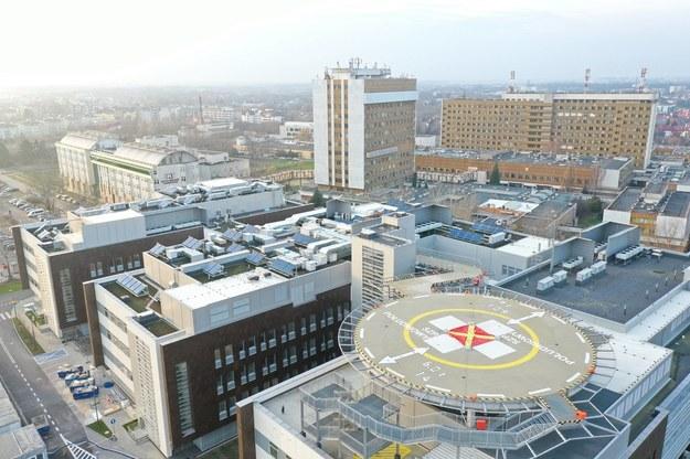 Tak wyglądała budowa Szpitala Południowego w Warszawie / Leszek Szymański    /PAP