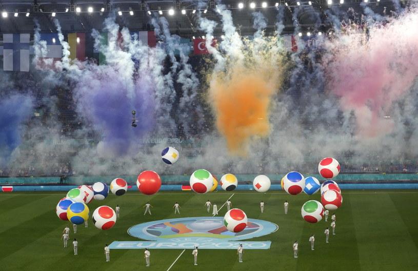 Tak wyglądała ceremonia otwarcia Euro 2020 /ANDREW MEDICHINI /PAP/EPA