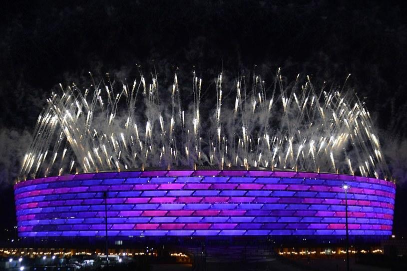 Tak wyglądała ceremonia zamknięcia igrzysk europejskich w Baku /AFP