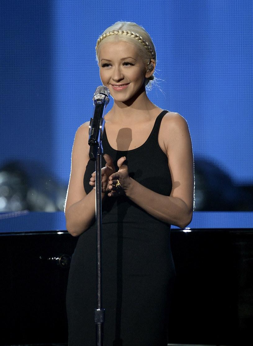 Tak wyglądała Christina Aguilera przed ciążą /Kevin Winter /Getty Images