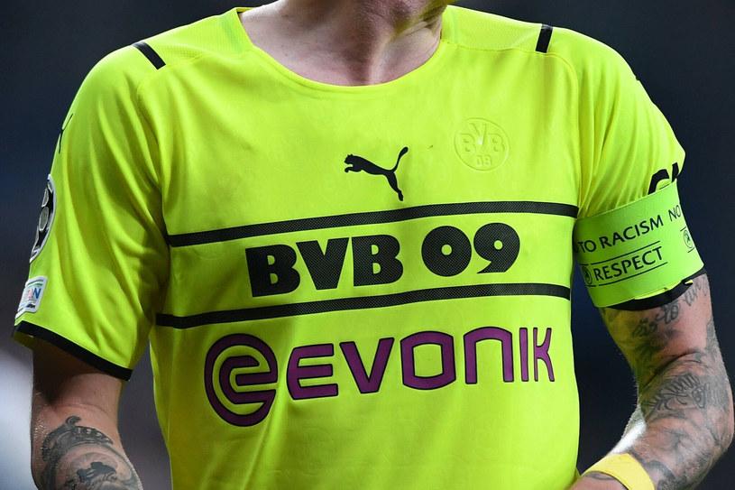 Tak wyglądała koszulka BVB podczas meczu w Stambule. Logo pumy widoczne, klubowy emblemat niekoniecznie... /East News /East News