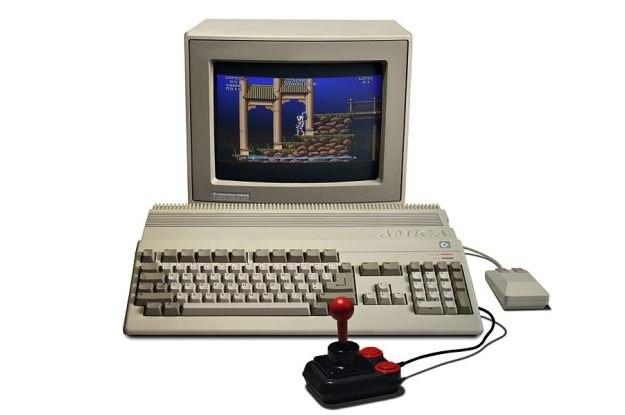 Tak wyglądała kultowa Amiga 500. Jak będzie wyglądała nowa Amiga?  fot. Bill Bertram z Wikipedia /Internet