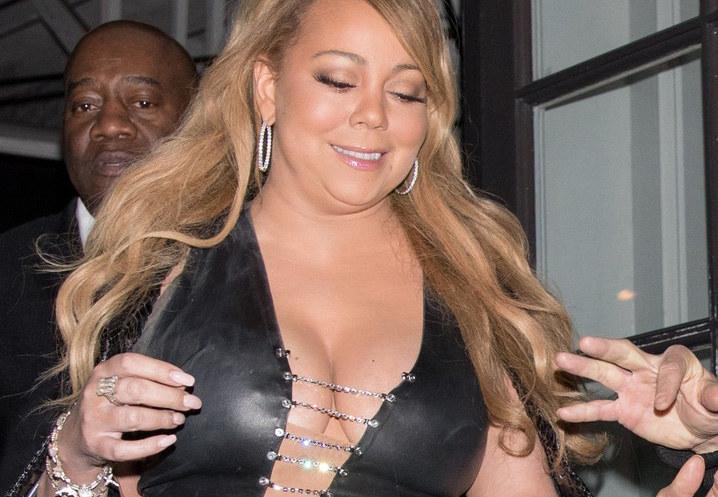 Tak wyglądała Mariah Carey kilka miesięcy temu /East News