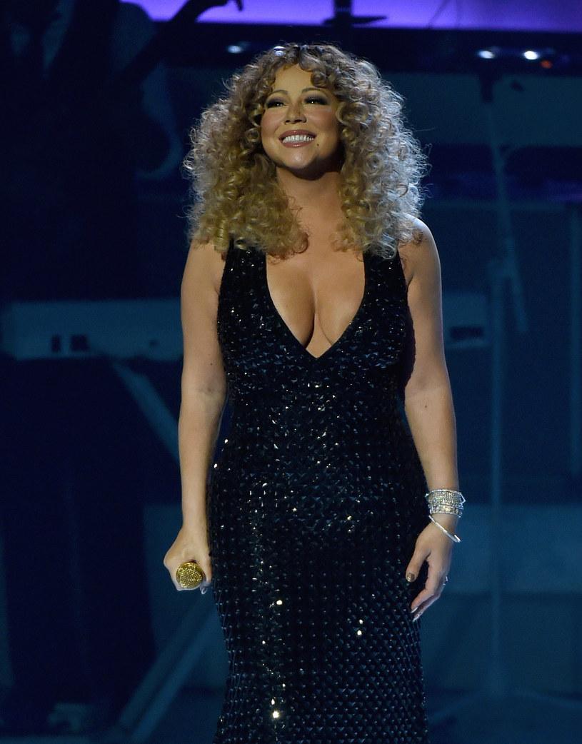 Tak wyglądała Mariah Carey przeszło rok temu /Ethan Miller /Getty Images