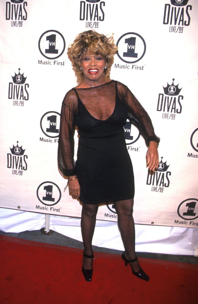 Tak wyglądała Tina Turner w 1999 roku /Diane Freed /Getty Images