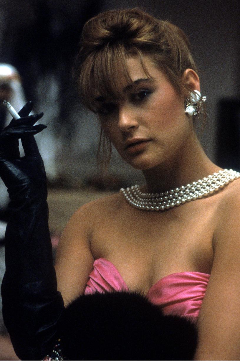 """Tak wyglądała w 1985 roku na początku kariery. Grała wtedy w filmie """"Ognie świętego Elma"""" /123RF/PICSEL"""