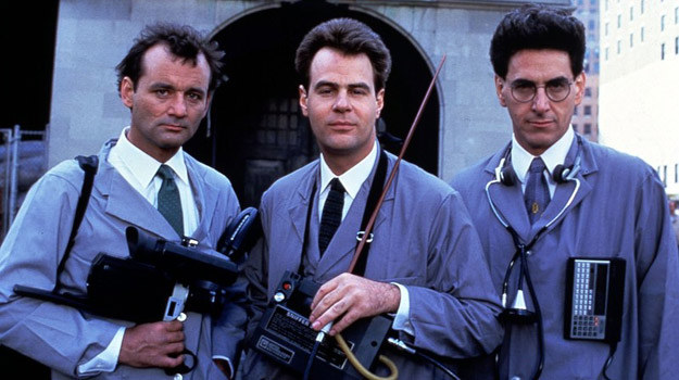 Tak wyglądali w 1984 roku: Bill Murray, Dan Aykroyd i Harold Ramis /East News