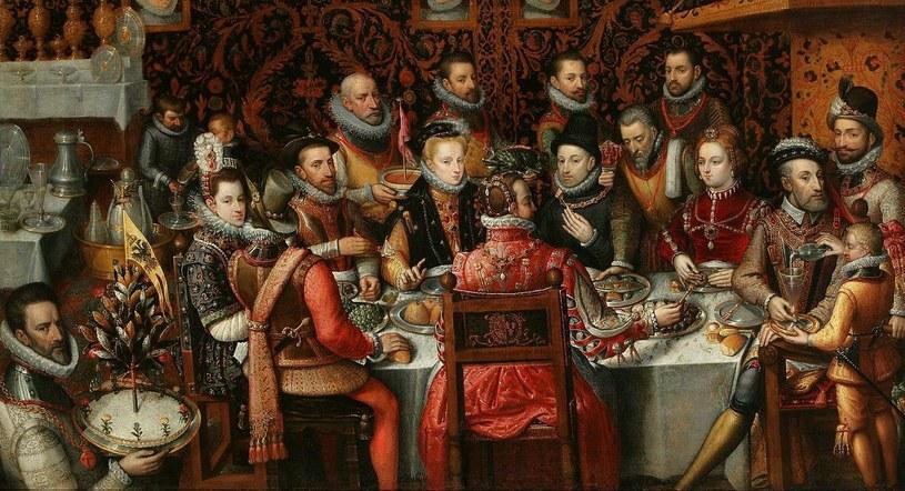 Tak wyglądały biesiady u schyłku epoki renesansu. Obraz pędzla Alonso Sáncheza Coello (domena publiczna) /Ciekawostki Historyczne
