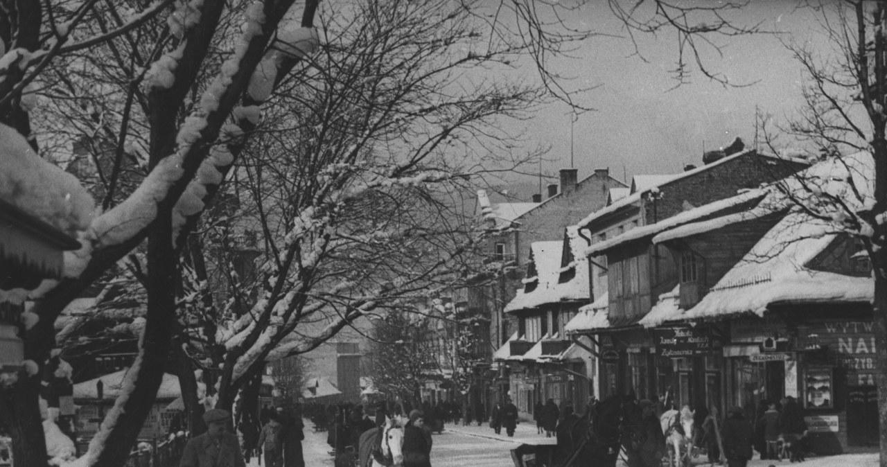 Tak wyglądały Krupówki przed wojną. Archiwalne zdjęcia