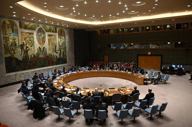 Tak wyglądały posiedzenia Rady Bezpieczeństwa przed pandemią /AFP