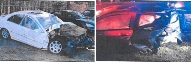 Tak wyglądały samochody po tragicznym zderzeniu /imgur.com /INTERIA.PL