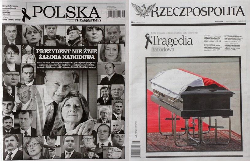 Tak wyglądały tytuły ogólnopolskich dzienników /Jan Kucharzyk /East News