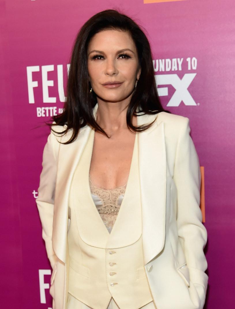 Tak Zeta-Jones wyglądała w kwietniu tego roku /Jamie McCarthy /Getty Images