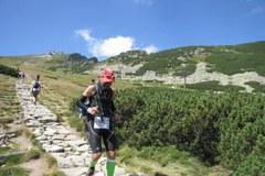Tak zmagali się zawodnicy biegnący po Tatrach: