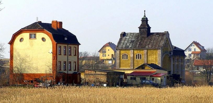Tak zwana stara stacja pomp na osiedlu Warniki w Kostrzynie nad Odrą. /Odkrywca