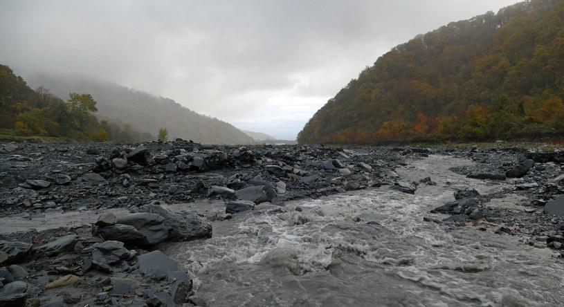 Tak zwany punkt krytyczny - ostatnie miejsce, gdzie można wyhamować pęd rzeki Durudżi /Marcin Ogdowski /INTERIA.PL