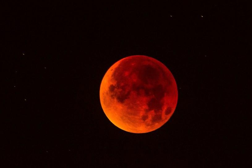 Taką barwę przybierze Księżyc /Tadeusz Koniarz /Reporter