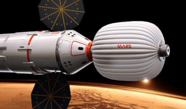 Taka kapsuła w okolicach 2018 r. poleci na Marsa /materiały prasowe