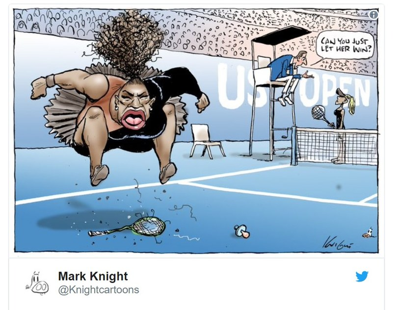 """Taką karykaturę zamieścił """"The Herald Sun"""" /"""