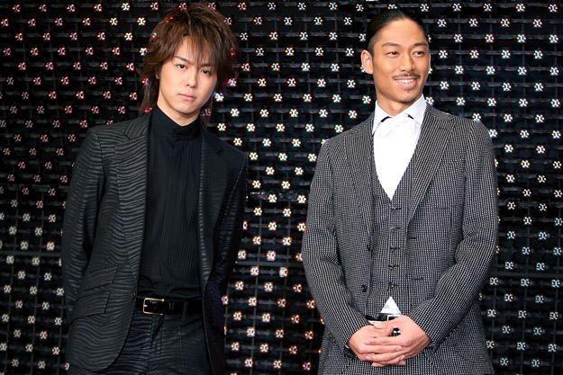 Takahiro i Akira z zespołu Exile - fot. Kiyoshi Ota /Getty Images/Flash Press Media