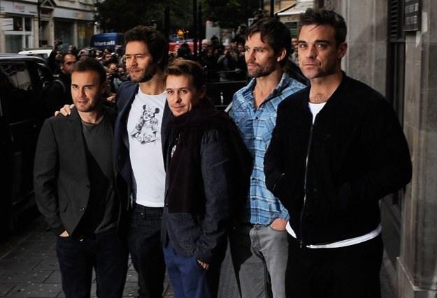 Take That z Robbiem Williamsem w składzie - fot. Ian Gavan /Getty Images/Flash Press Media