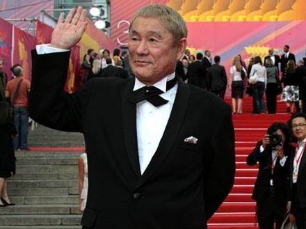 """Takeshi Kitano rozpoczyna czułe pożegnanie z """"Luną"""" /AFP"""