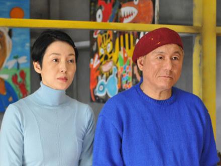 """Takeshi Kitano w swym najnowszym filmie """"Achilles i żółw"""" /materiały dystrybutora"""