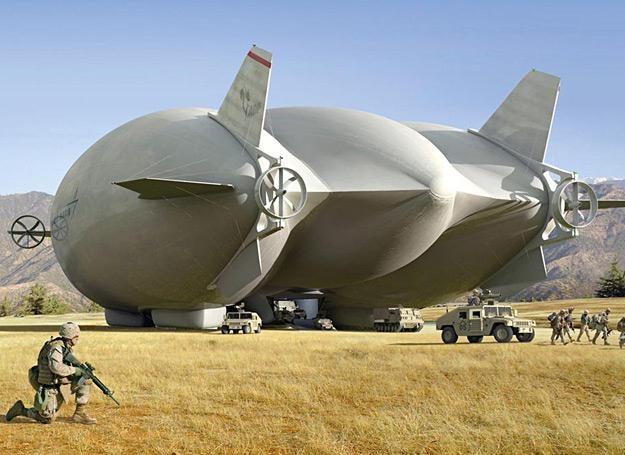 Taki gigant będzie mógł pokonać trasy oceaniczne z prędkością przelotową 180 km/h /Polska Zbrojna