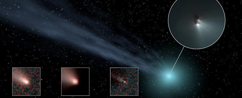 Takich komet w naszym układzie planetarnym jest znacznie więcej, niż szacowaliśmy /NASA