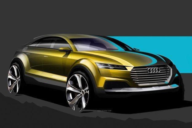 Takie będzie Audi Q4? /