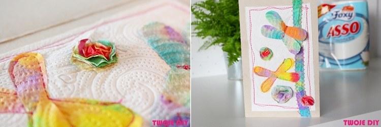 Takie cuda z ręczników Foxy stworzyła Kasia Ogórek /www.twojediy.pl