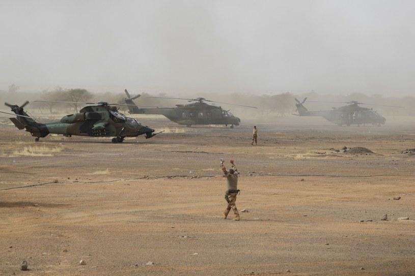Takie helikoptery biorą udział w operacji przeciwko dżihadystom w Mali /AFP