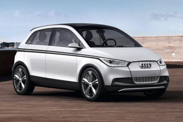 Takie miało być Audi A2 /