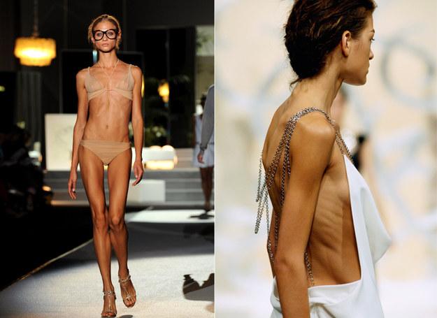Takie modelki nie będą już mogły chodzić po izraelskich wybiegach /Getty Images