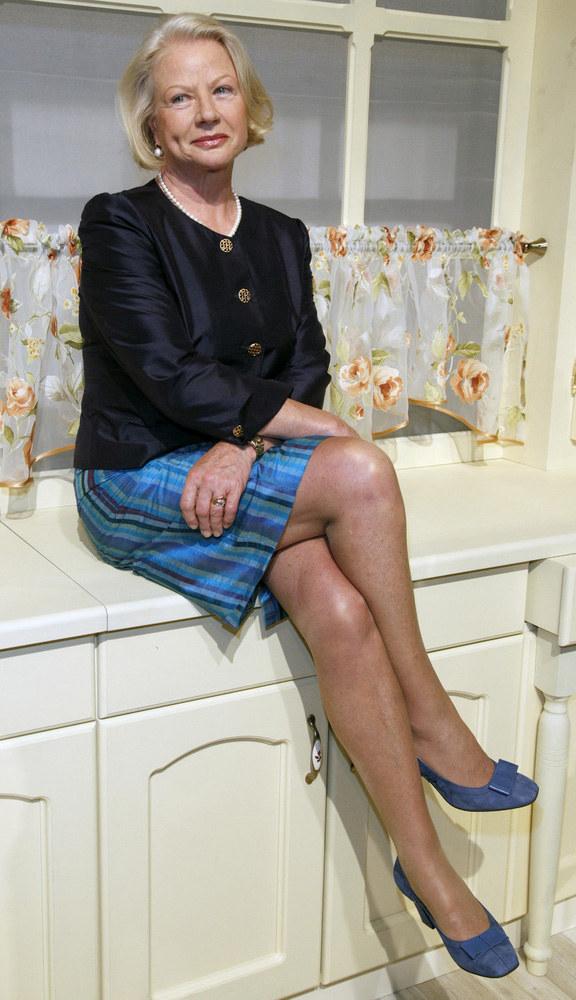 Takie nogi to prawdziwy skarb. Ale liczy się też dobre samopoczucie, którego aktorce nie brak  /Andrzej Engelbrecht /AKPA