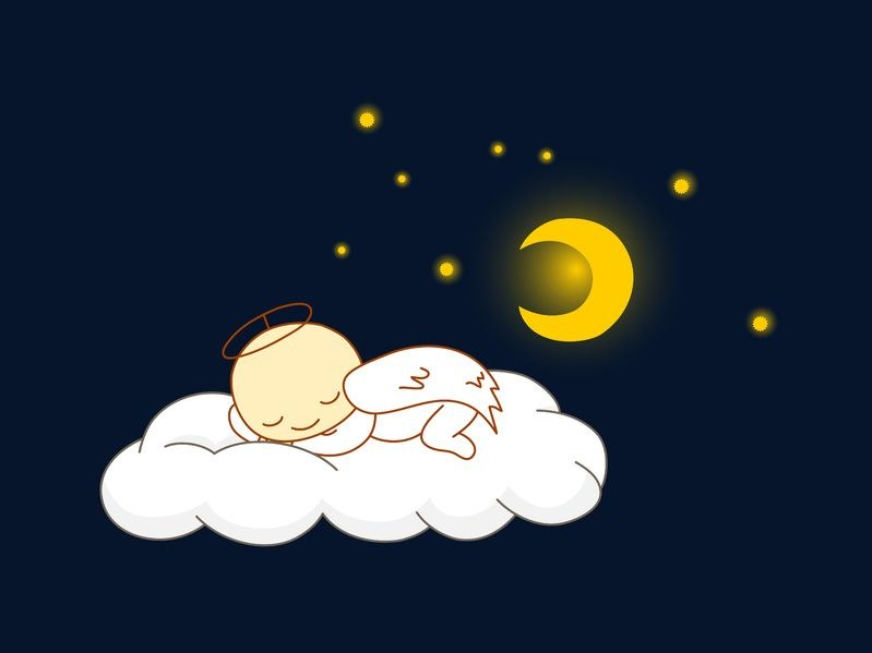 Takie piękne - gdy już zasną... /123RF/PICSEL