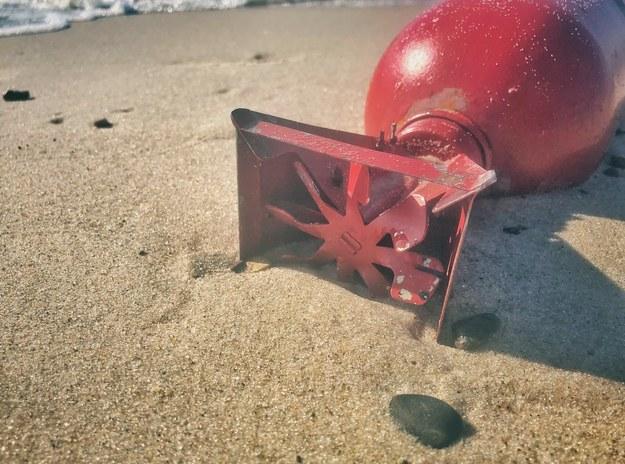 Takie pociski znaleziono na plażach, fot. Grzegorz Elmiś /