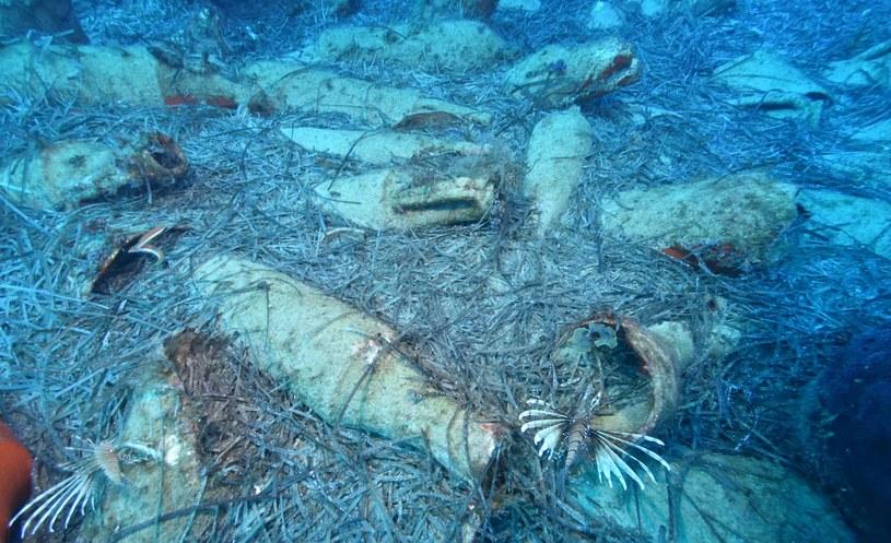 Takie skarby odkryto u wybrzeży Cypru /materiały prasowe