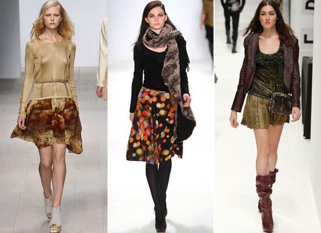 Takie spódniczki podkreślą kobiecość /East News/ Zeppelin