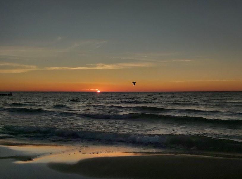Takie zachody słońca tylko w Ustroniu Morskim /INTERIA.PL