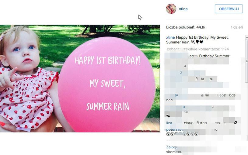Takie zdjęcie opublikowała na Instagramie Christina Aguilera /Instagram@xtina /Instagram