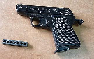 Takiej broni używali złodzieje  /Policja